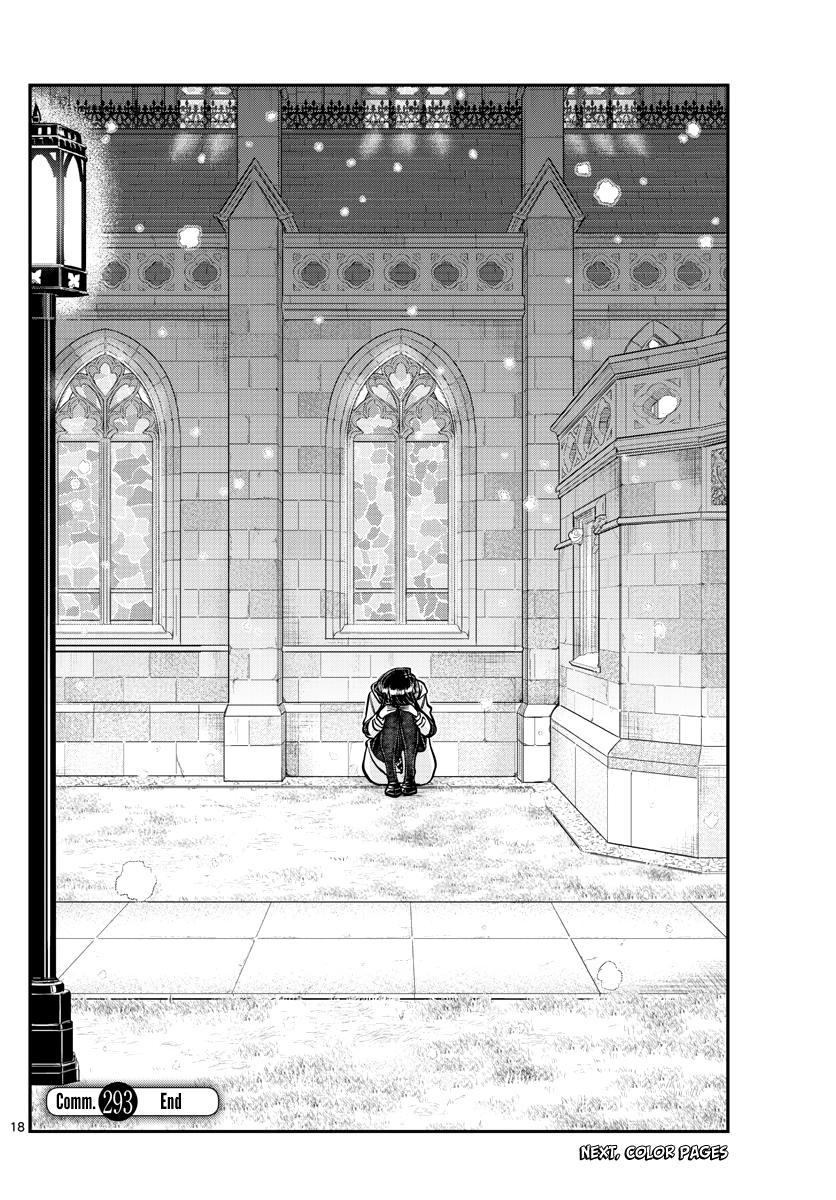 Komi-San Wa Komyushou Desu Chapter 293: Turn This Way. Please. page 18 - Mangakakalots.com