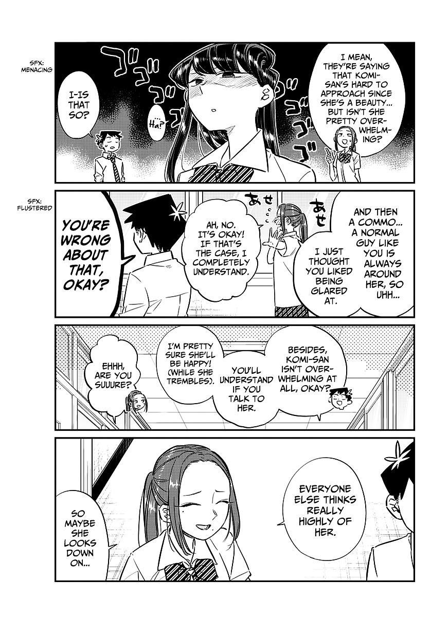 Komi-San Wa Komyushou Desu Vol.5 Chapter 58: A Bit Of An Unpleasant Feeling page 9 - Mangakakalot