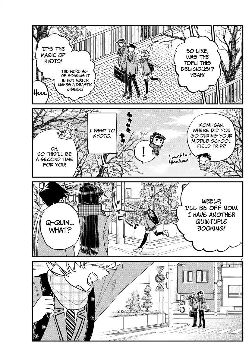 Komi-San Wa Komyushou Desu Vol.8 Chapter 103: Deciding The Groups For The Field Trip page 7 - Mangakakalot