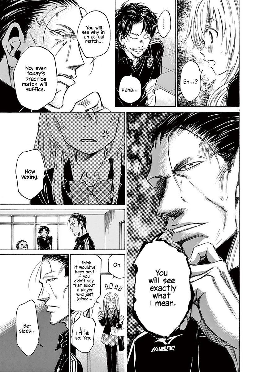 Ao Ashi Vol.3 Chapter 27: Hana Ichijou (1) page 13 - Mangakakalots.com