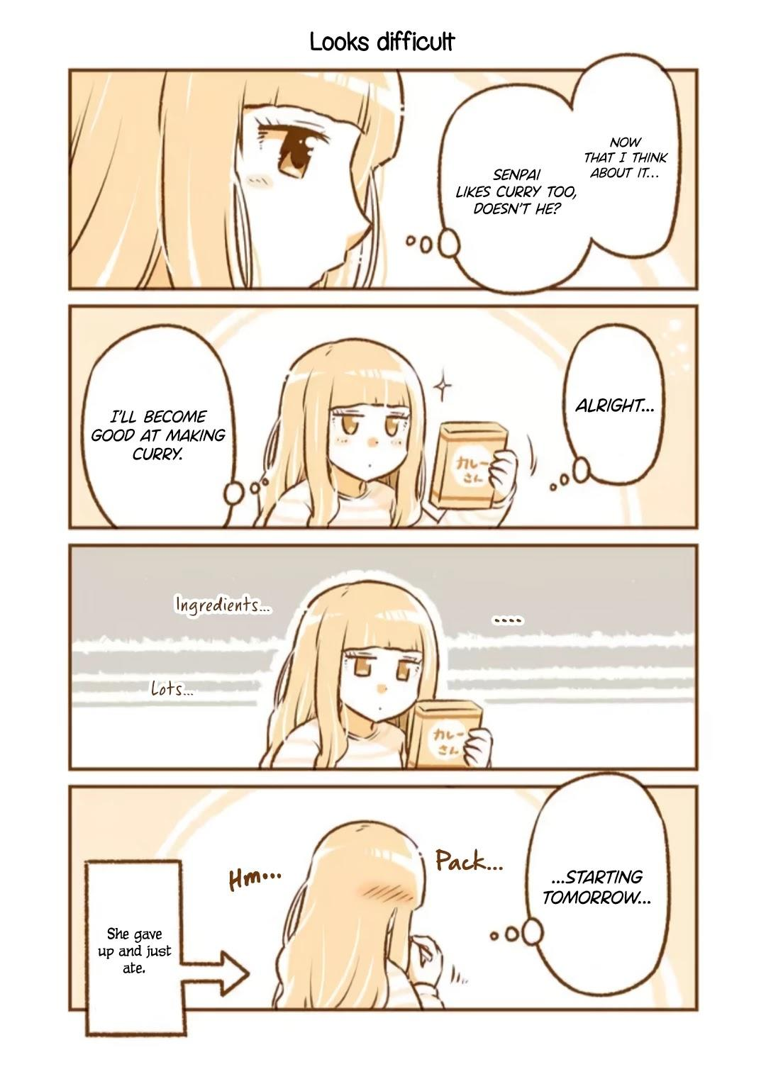 A Long-Distance Relationship Next Door Chapter 21: Curry Day/looks Difficult page 3 - Mangakakalots.com