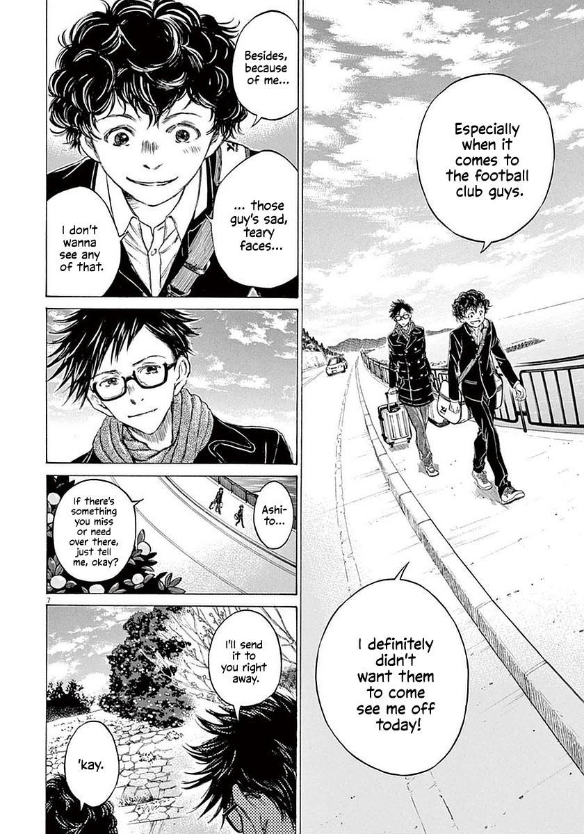Ao Ashi Vol.3 Chapter 21: Orange-Coloured Scenery (Part 2) page 7 - Mangakakalots.com