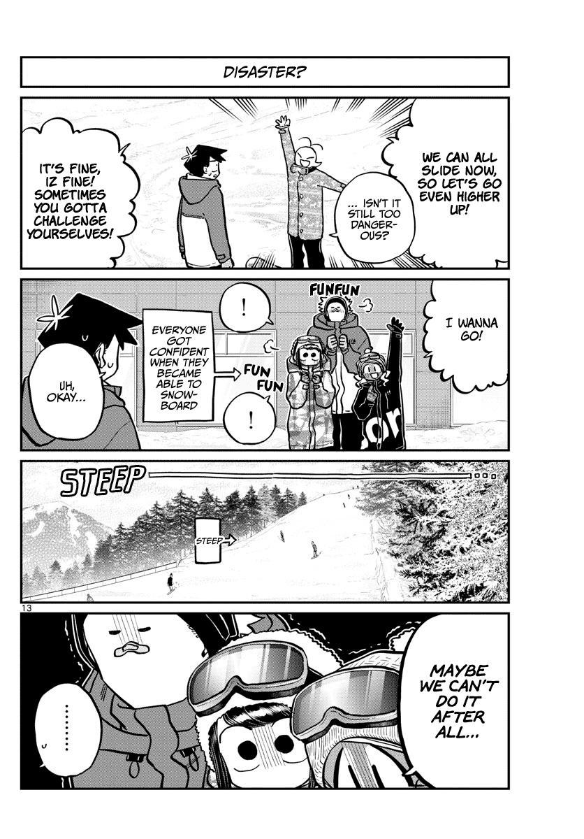 Komi-San Wa Komyushou Desu Chapter 262: Snowboarding 2 page 12 - Mangakakalot