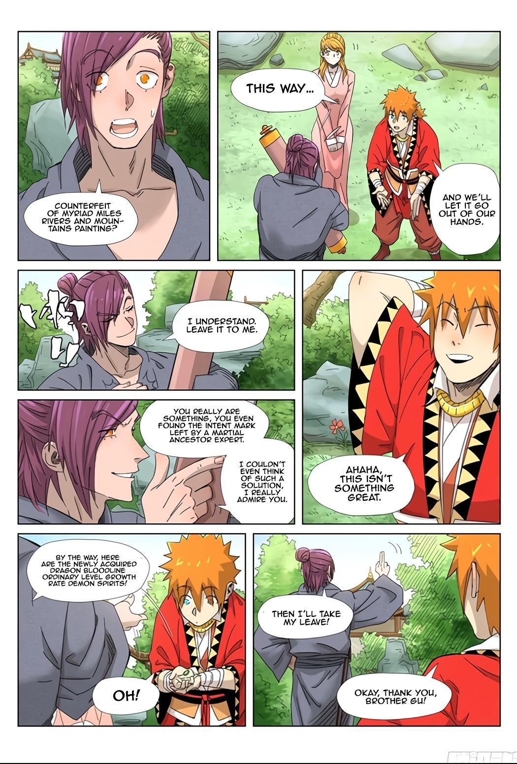 Tales Of Demons And Gods Chapter 347.5 page 3 - Mangakakalots.com