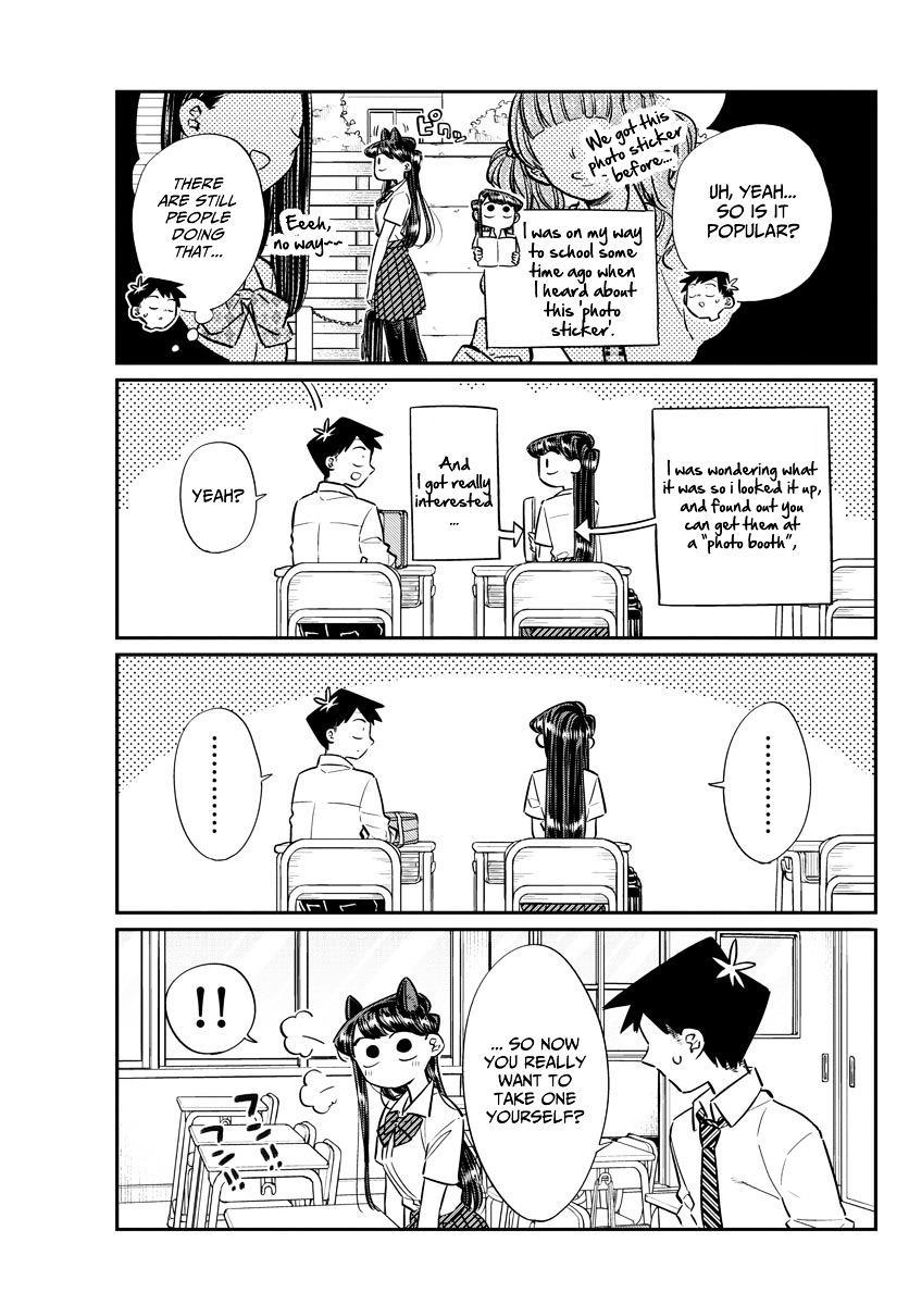 Komi-San Wa Komyushou Desu Vol.4 Chapter 57: Photo Stickers page 3 - Mangakakalot