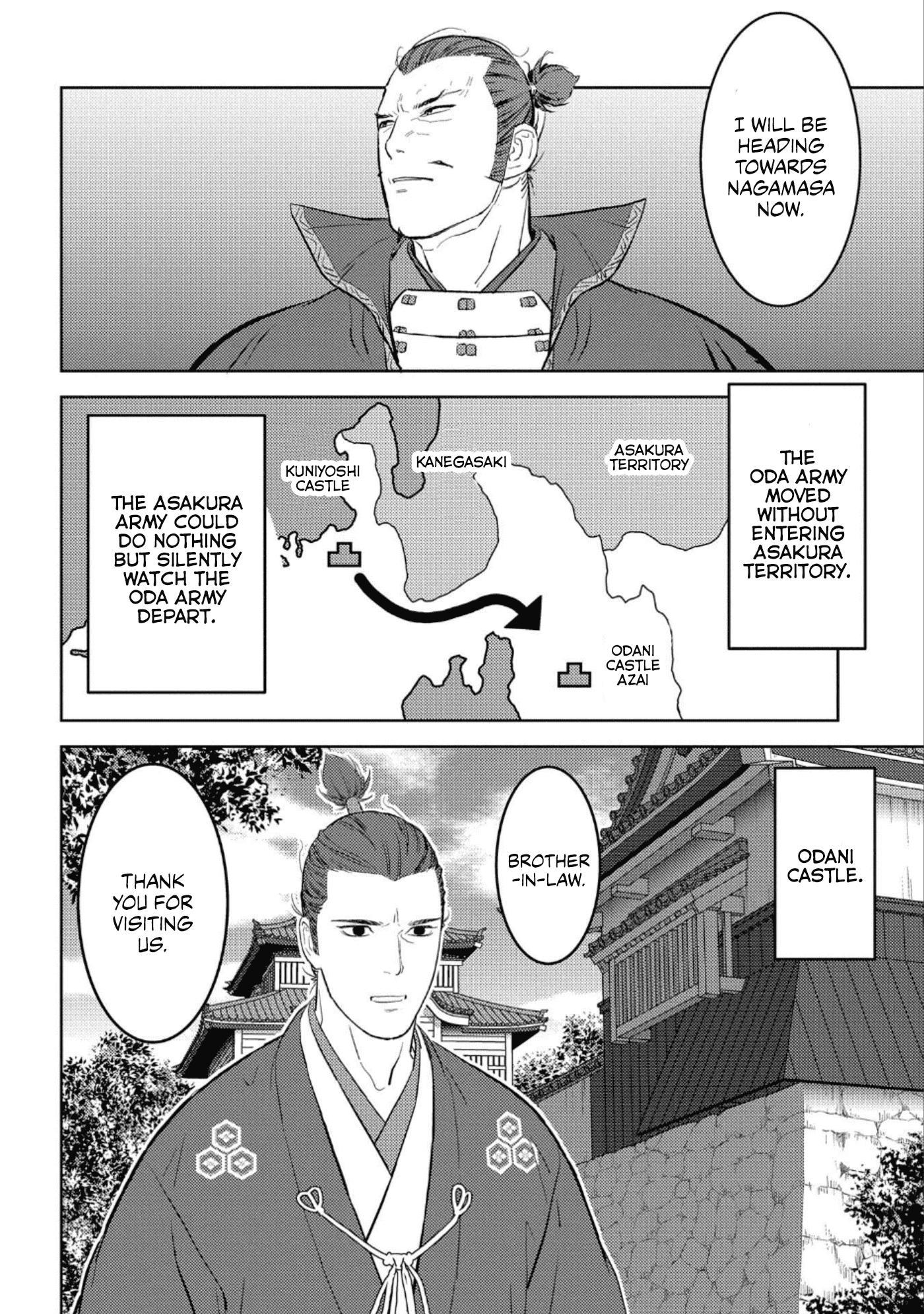 Sengoku Komachi Kurou Tan! Chapter 42 page 23 - Mangakakalots.com