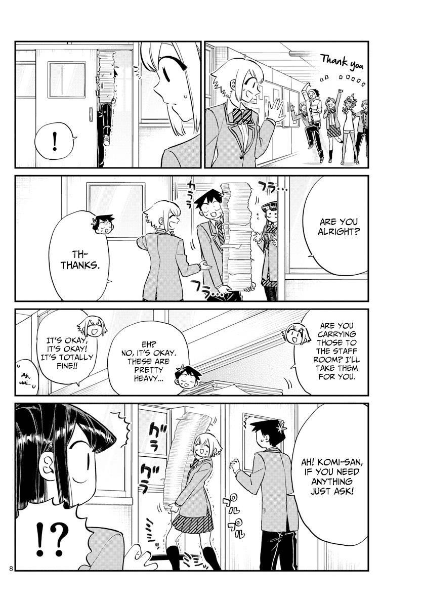 Komi-San Wa Komyushou Desu Vol.9 Chapter 122: Sweetness page 8 - Mangakakalot