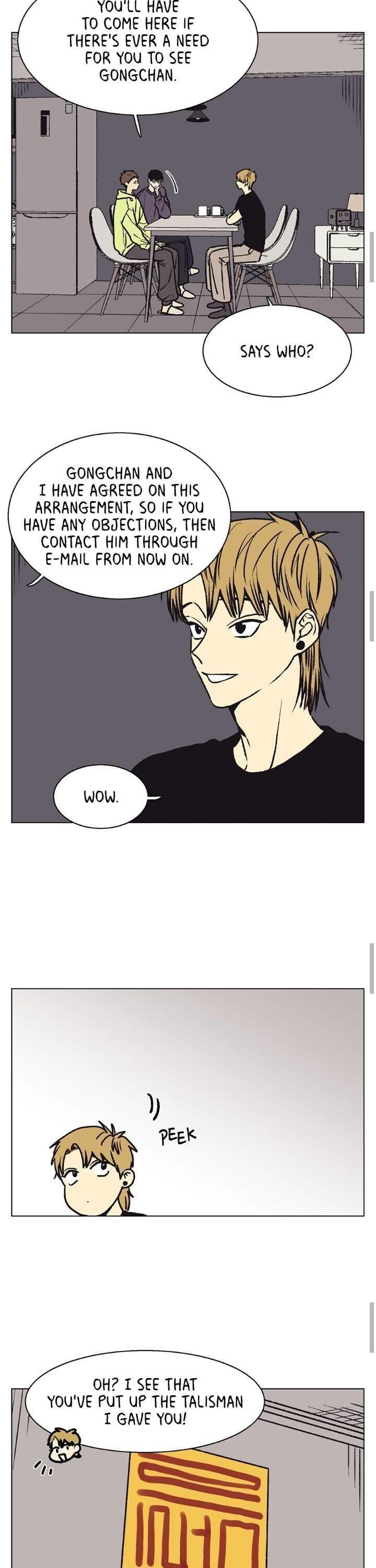 The Spooky Love Tale Of Gongchan Seol Chapter 51 page 8 - Mangakakalots.com