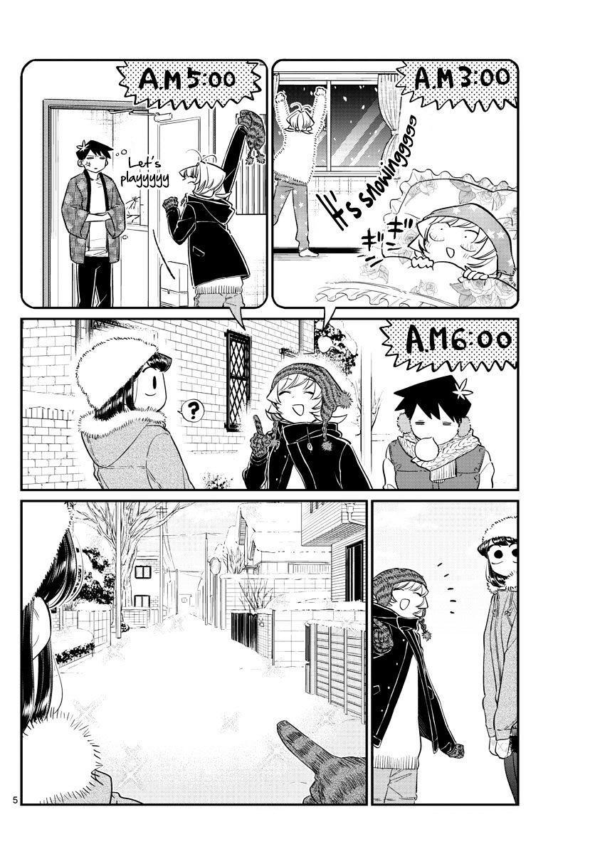 Komi-San Wa Komyushou Desu Vol.7 Chapter 89: A Snowman page 5 - Mangakakalot