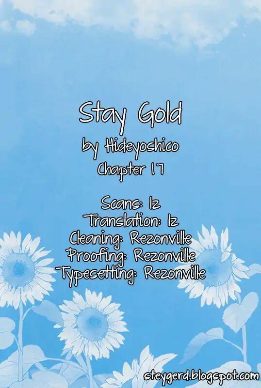 Stay Gold (Hideyoshico) Vol.2 Chapter 17 page 1 - Mangakakalots.com