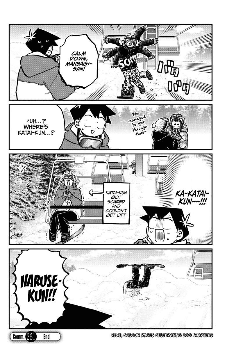 Komi-San Wa Komyushou Desu Chapter 261: Snowboarding page 18 - Mangakakalot
