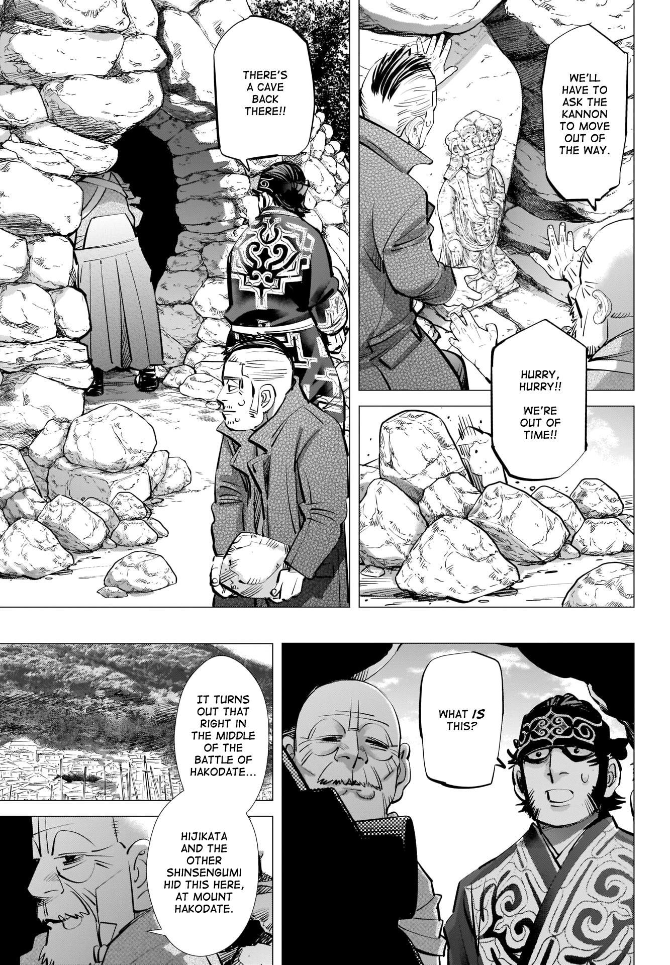 Golden Kamui Chapter 290: The Statue Of Kannon page 18 - Mangakakalots.com