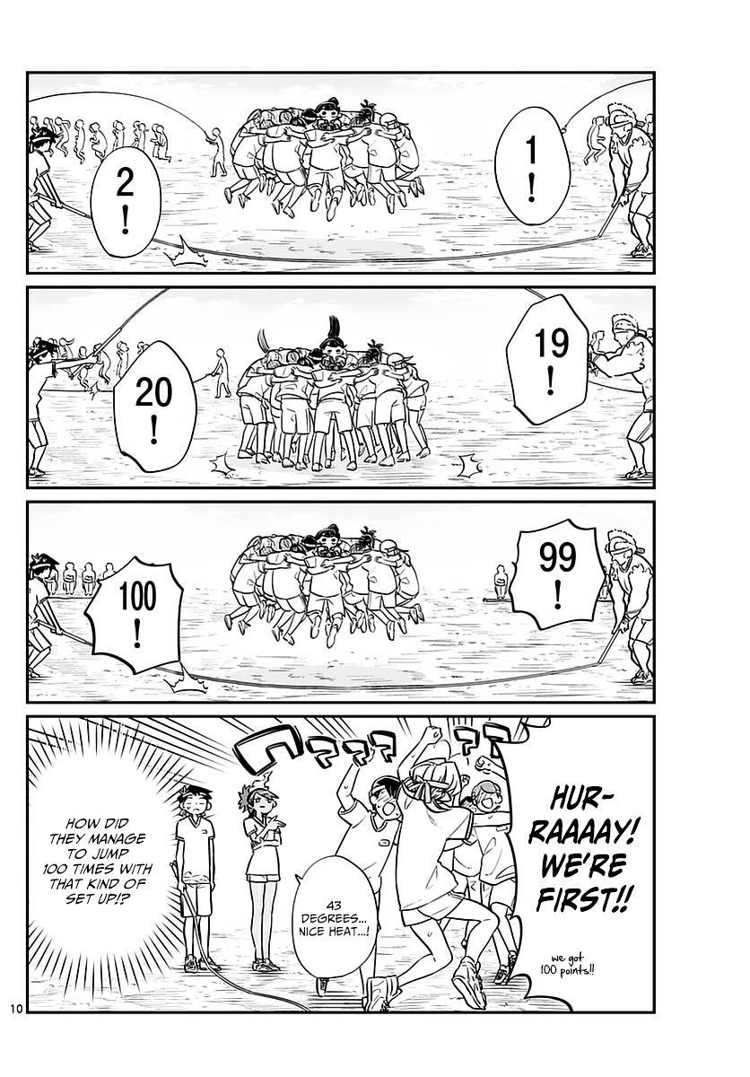 Komi-San Wa Komyushou Desu Vol.4 Chapter 54: Sports Festival Part 1 page 10 - Mangakakalot