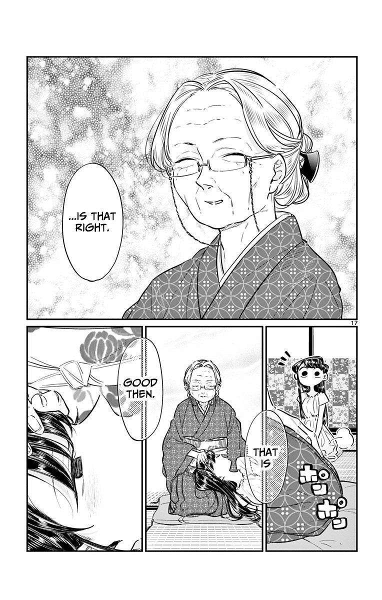 Komi-San Wa Komyushou Desu Vol.3 Chapter 45: Obon Festival page 17 - Mangakakalot