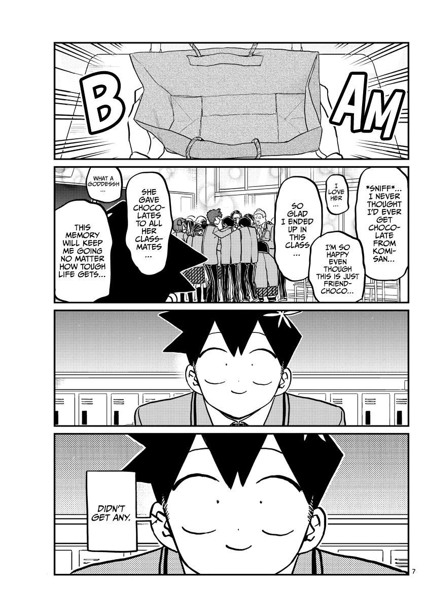 Komi-San Wa Komyushou Desu Chapter 299: Valentine's Day, Second Year Edition page 7 - Mangakakalot