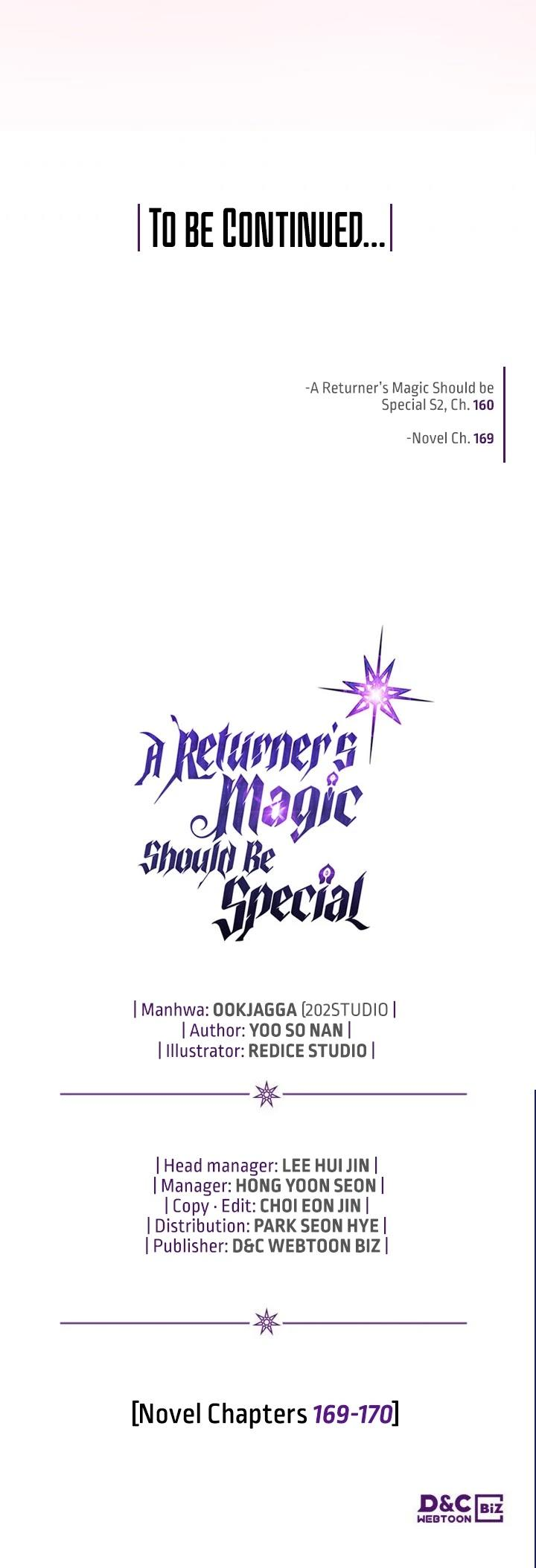 A Returner's Magic Should Be Special Chapter 160 page 47 - Mangakakalots.com