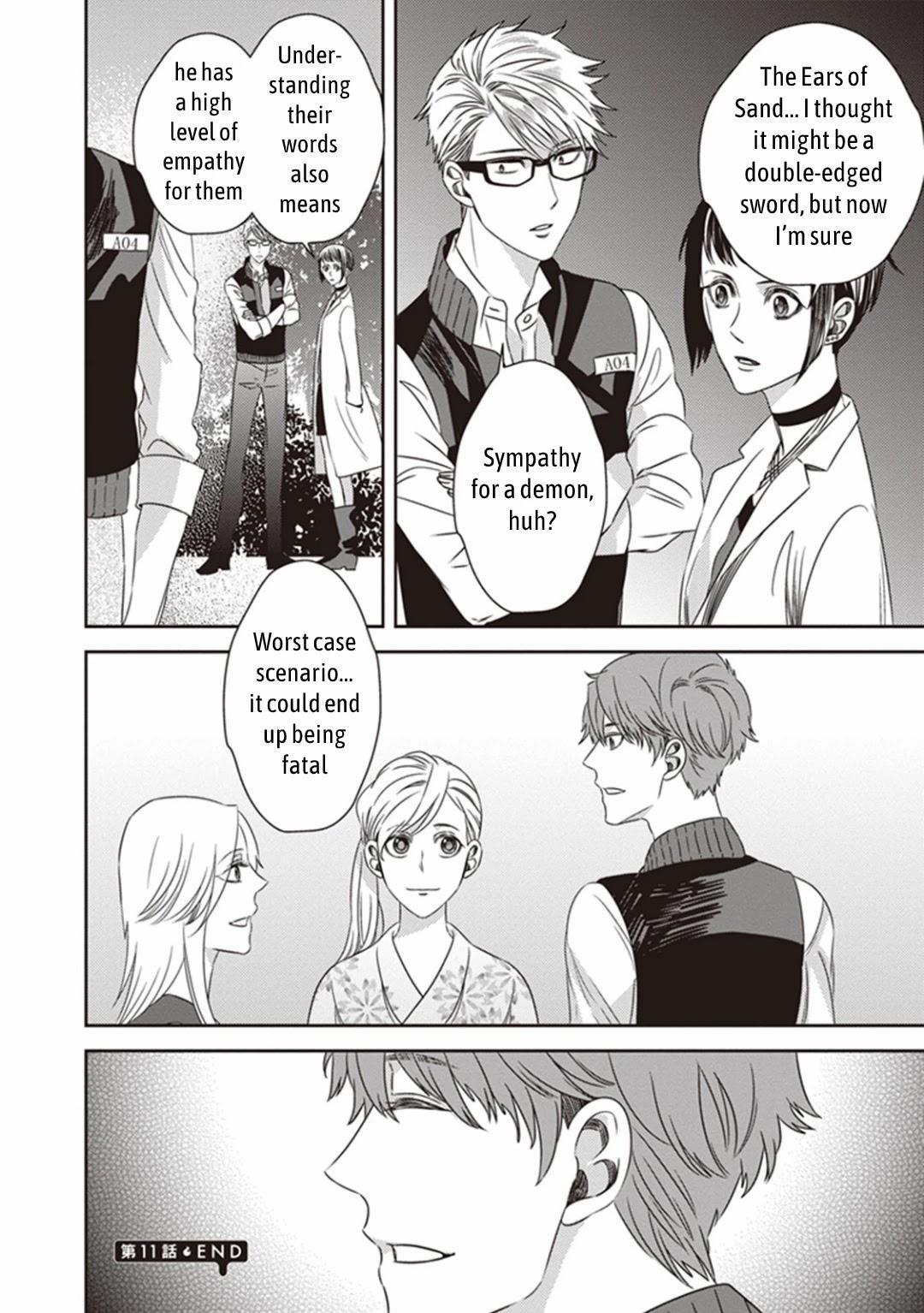 Midnight Occult Civil Servants Chapter 11.2: Demon And Sense Of Loss (Part 4) page 25 - Mangakakalots.com