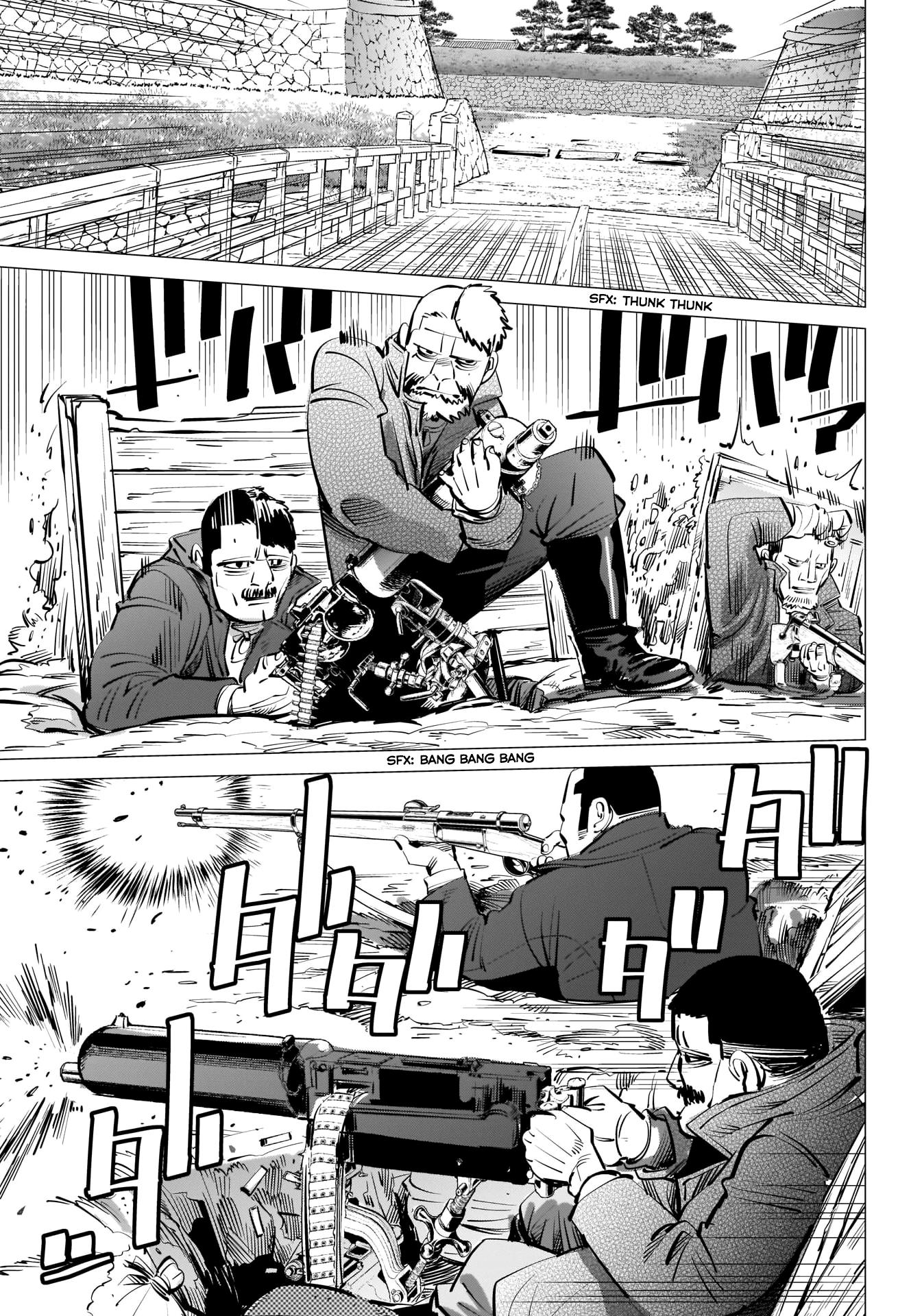 Golden Kamui Chapter 290: The Statue Of Kannon page 4 - Mangakakalots.com