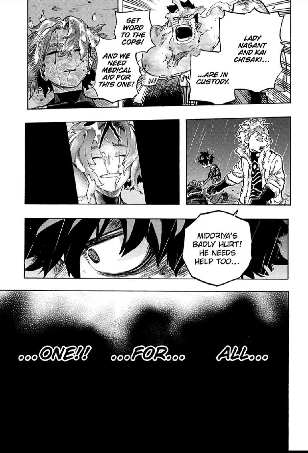 Boku No Hero Academia Chapter 316 page 11 - Mangakakalots.com