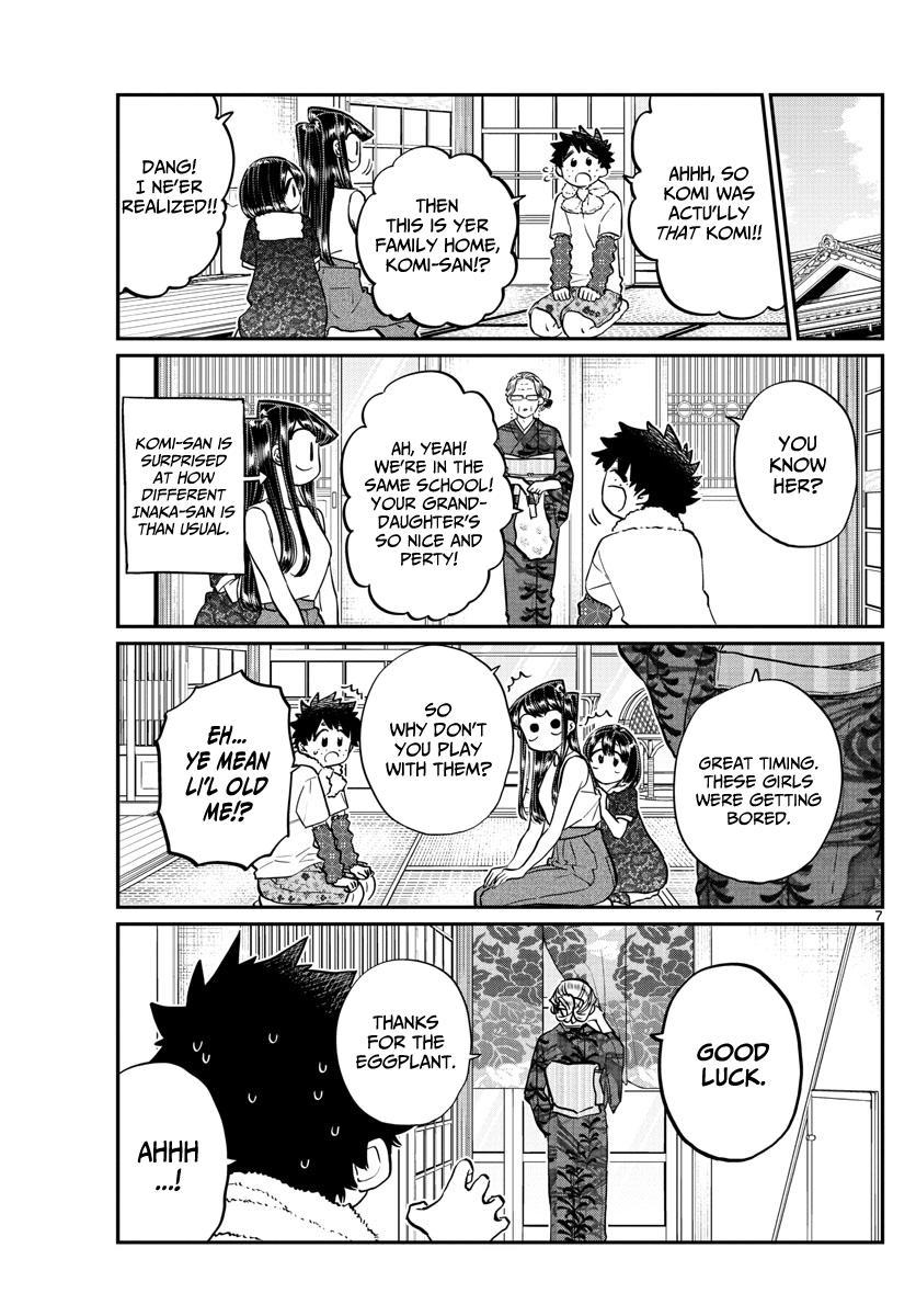 Komi-San Wa Komyushou Desu Vol.13 Chapter 184: Playing In The Country page 7 - Mangakakalot