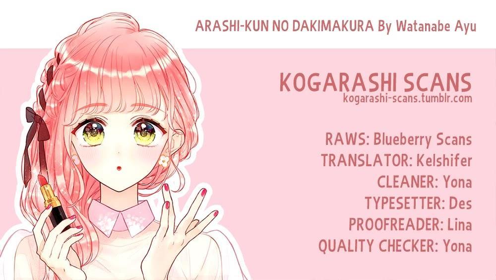 Arashi-Kun No Dakimakura Chapter 7: Because We're The Same page 1 - Mangakakalots.com