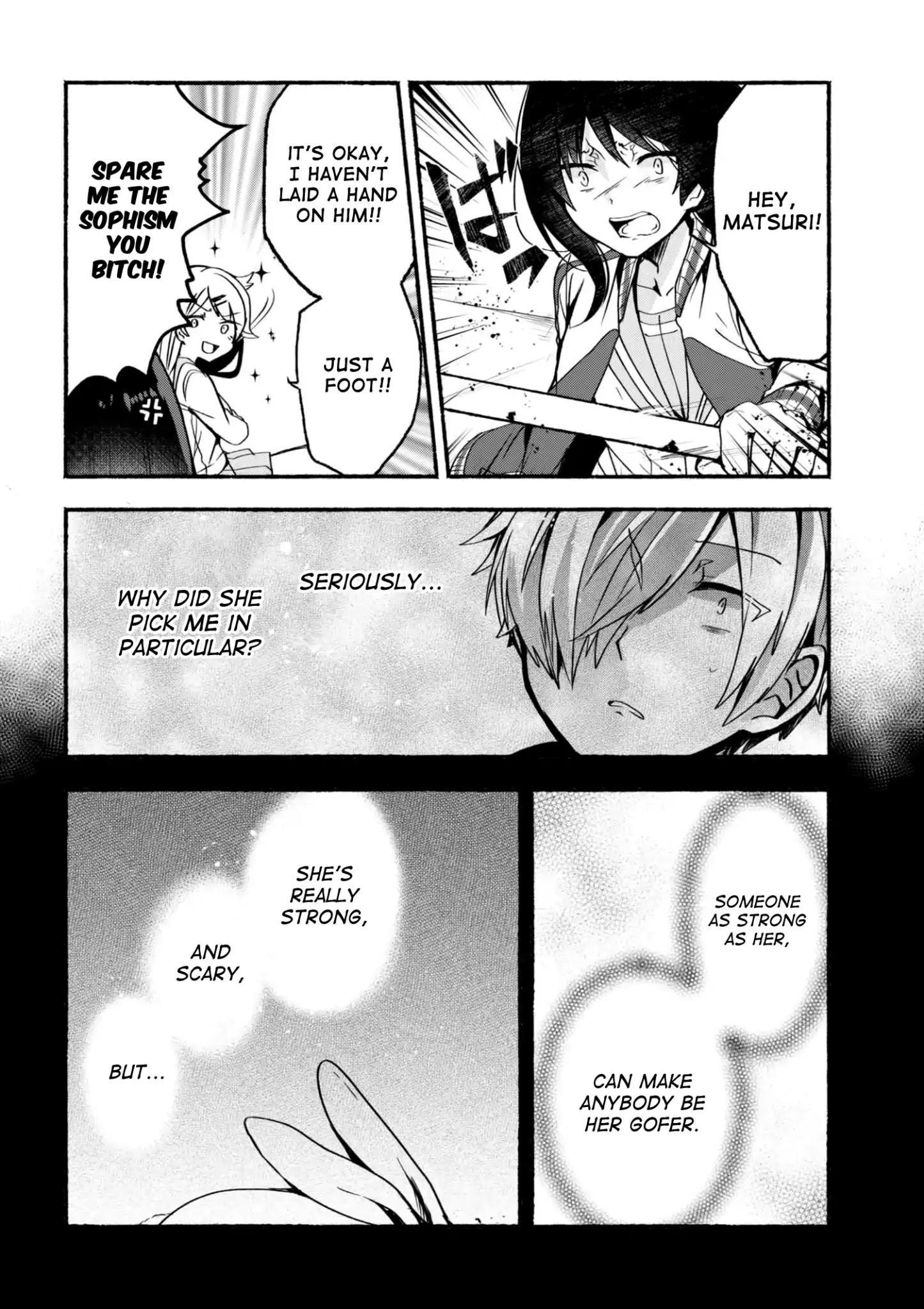 Pashiri Na Boku To Koi Suru Banchou-San Chapter 5 page 11 - Mangakakalots.com