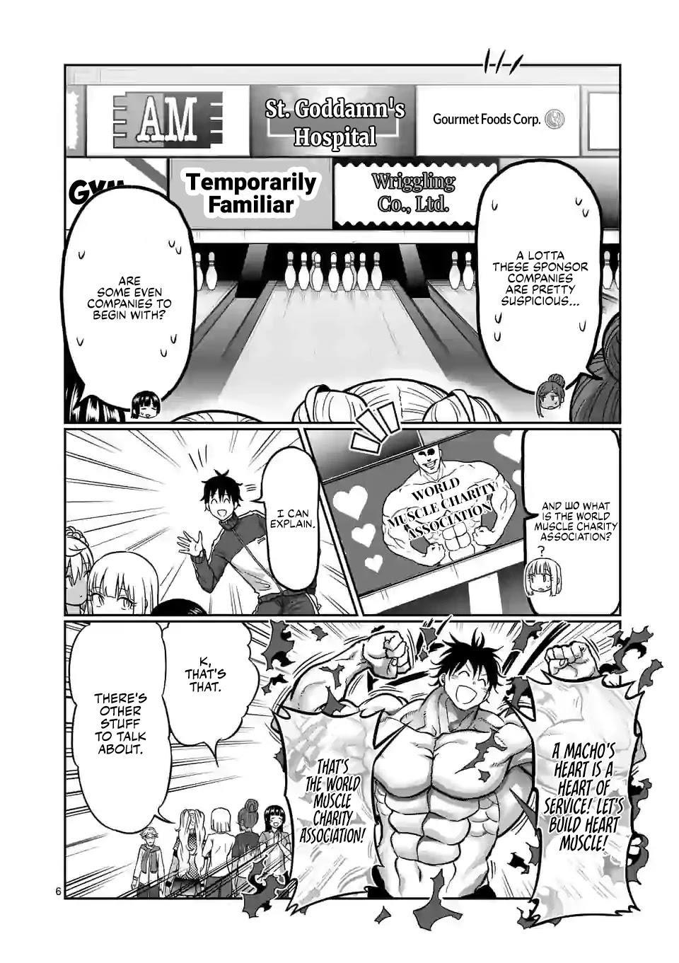 Danberu Nan Kiro Moteru? Chapter 119: Finger Curls page 7 - Mangakakalots.com