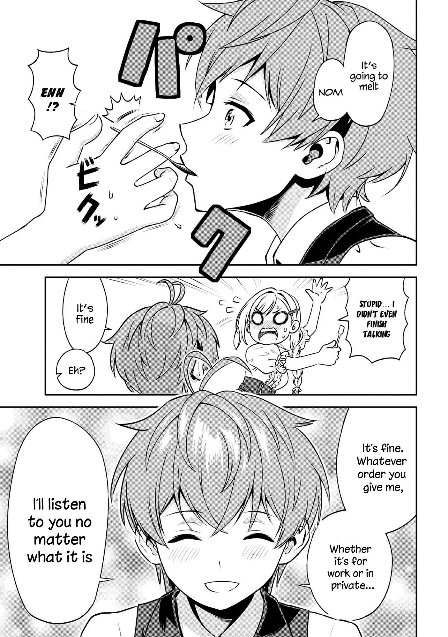 Older Elite Knight Is Cute Only In Front Of Me Chapter 16.2 page 8 - Mangakakalots.com