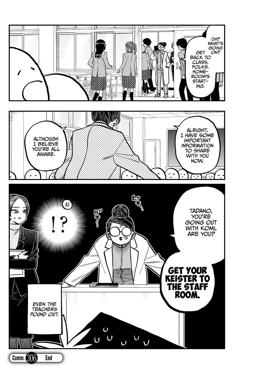Komi-San Wa Komyushou Desu Chapter 306: Reaction page 18 - Mangakakalot