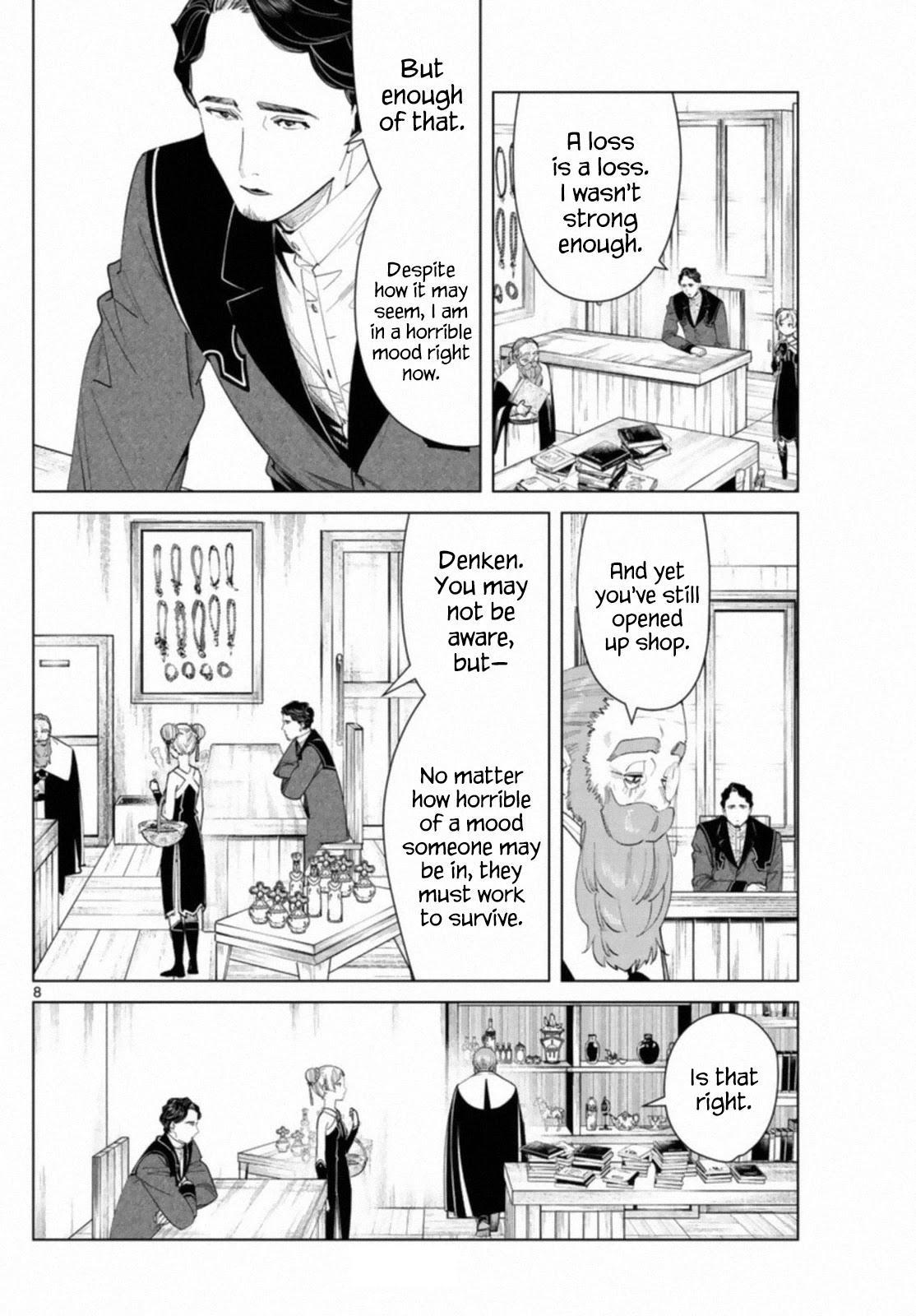 Sousou No Frieren Chapter 56 page 8 - Mangakakalots.com