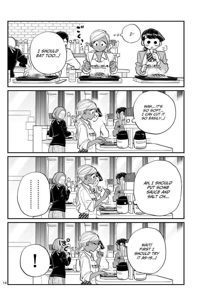 Komi-San Wa Komyushou Desu Vol.10 Chapter 139: Suddenly page 14 - Mangakakalot