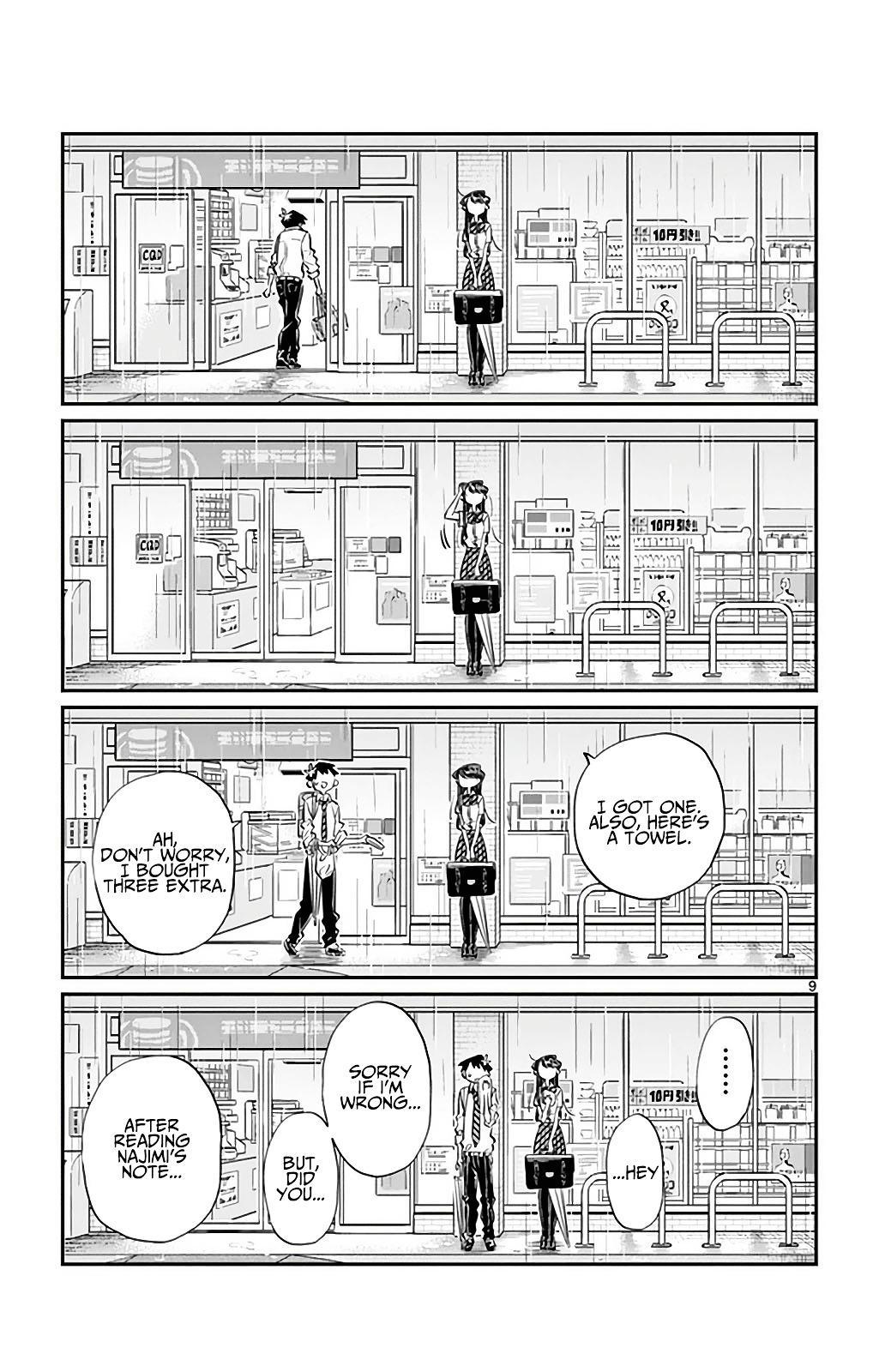 Komi-San Wa Komyushou Desu Vol.2 Chapter 30: It's Raining page 9 - Mangakakalot