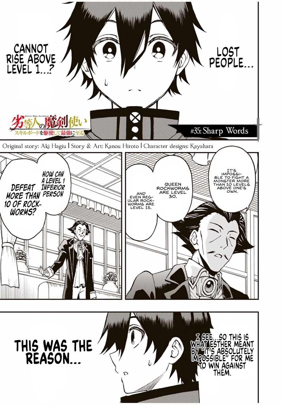 The Reincarnated Inferior Magic Swordsman Chapter 35 page 2 - Mangakakalots.com