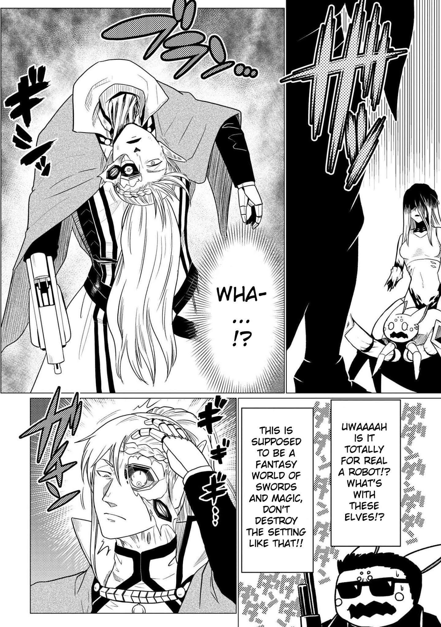Kumo Desu Ga, Nani Ka? Chapter 53.1 page 10 - Mangakakalot