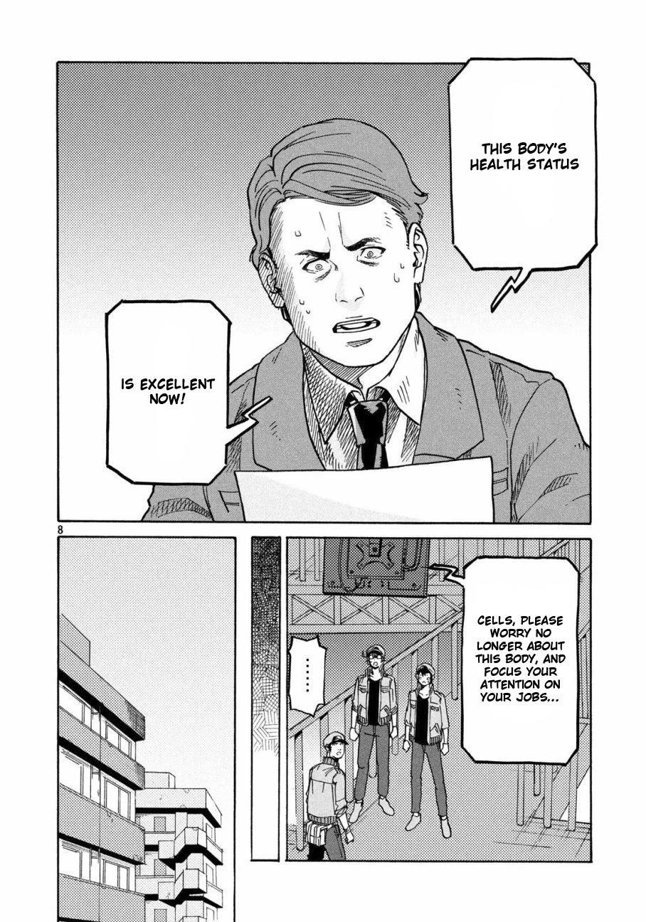 Hataraku Saibou Black Chapter 28: Pancreas, Fraud, Inferno page 8 - Mangakakalots.com