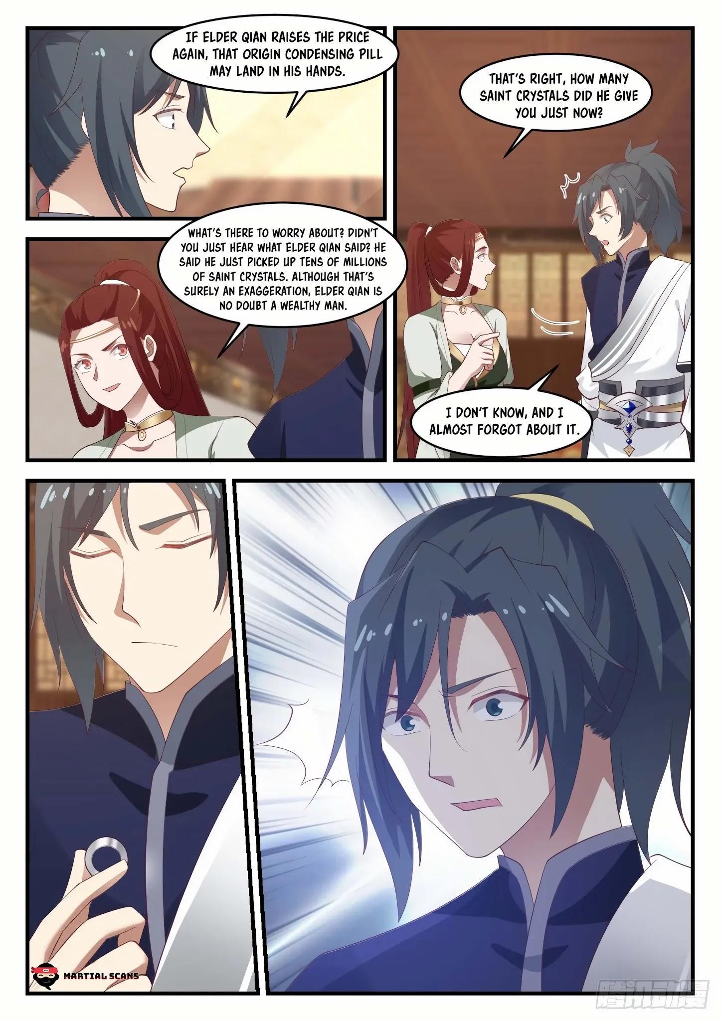 Martial Peak Chapter 1055: Filthy Rich page 9 - Mangakakalots.com