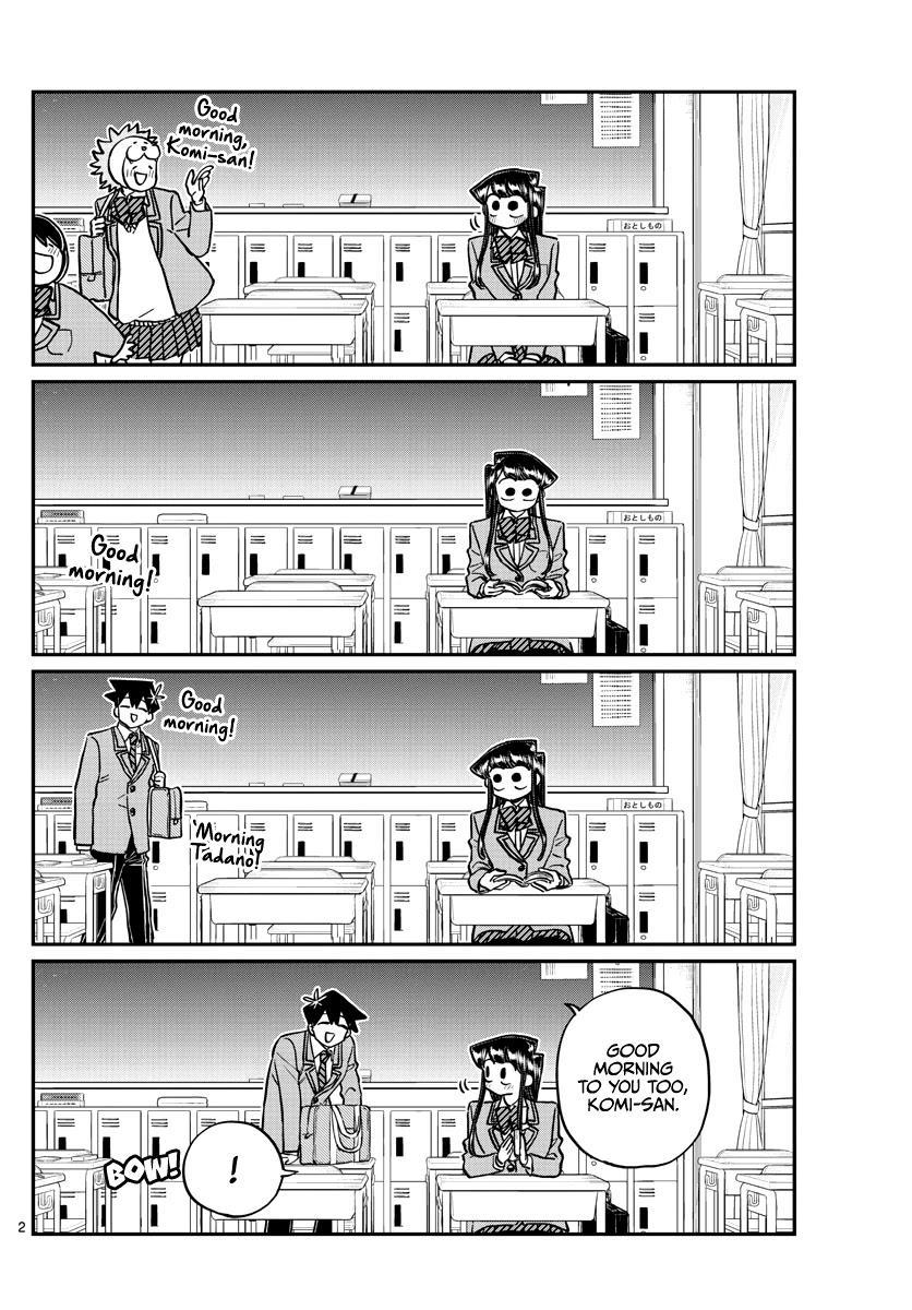 Komi-San Wa Komyushou Desu Chapter 298 page 2 - Mangakakalot