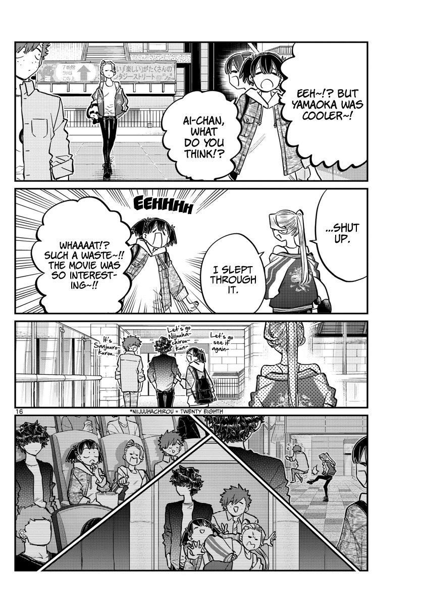 Komi-San Wa Komyushou Desu Chapter 198: Out & Law ~The Movie~ page 19 - Mangakakalot