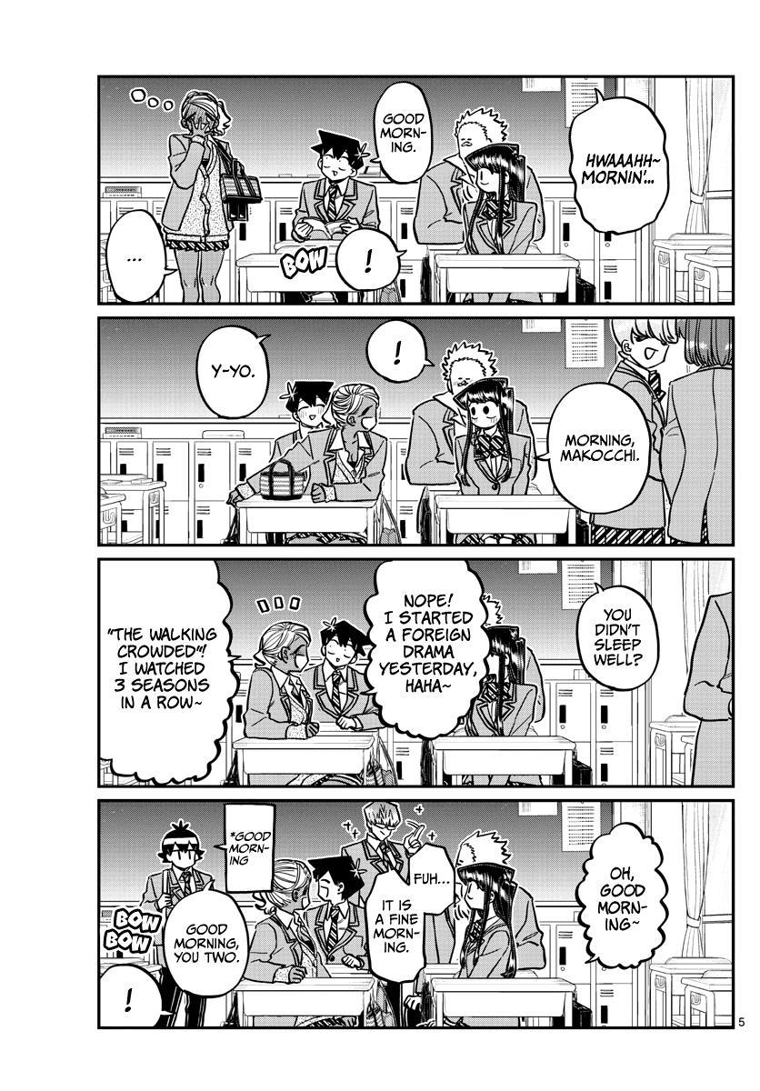 Komi-San Wa Komyushou Desu Chapter 298 page 5 - Mangakakalot