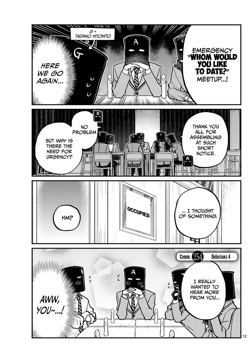 Komi-San Wa Komyushou Desu Chapter 254: Delusions 4 page 1 - Mangakakalot