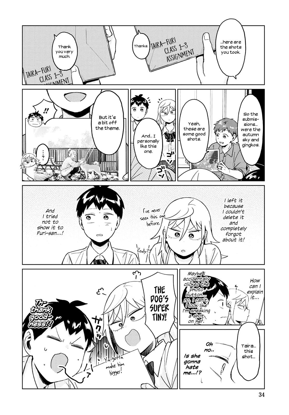 Tonari No Furi-San Ga Tonikaku Kowai Chapter 22 page 10 - Mangakakalots.com
