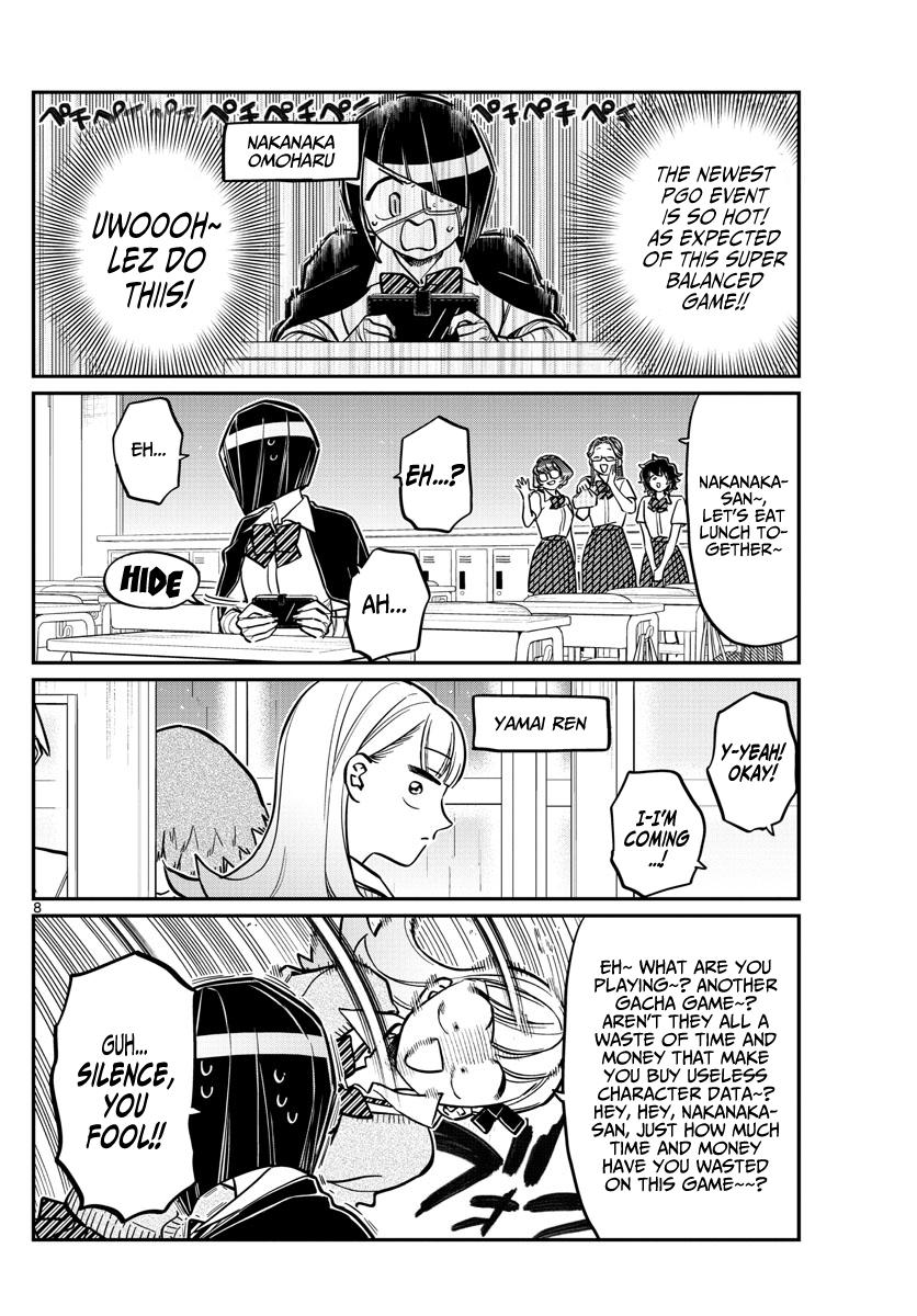 Komi-San Wa Komyushou Desu Chapter 216: Emotional page 8 - Mangakakalot