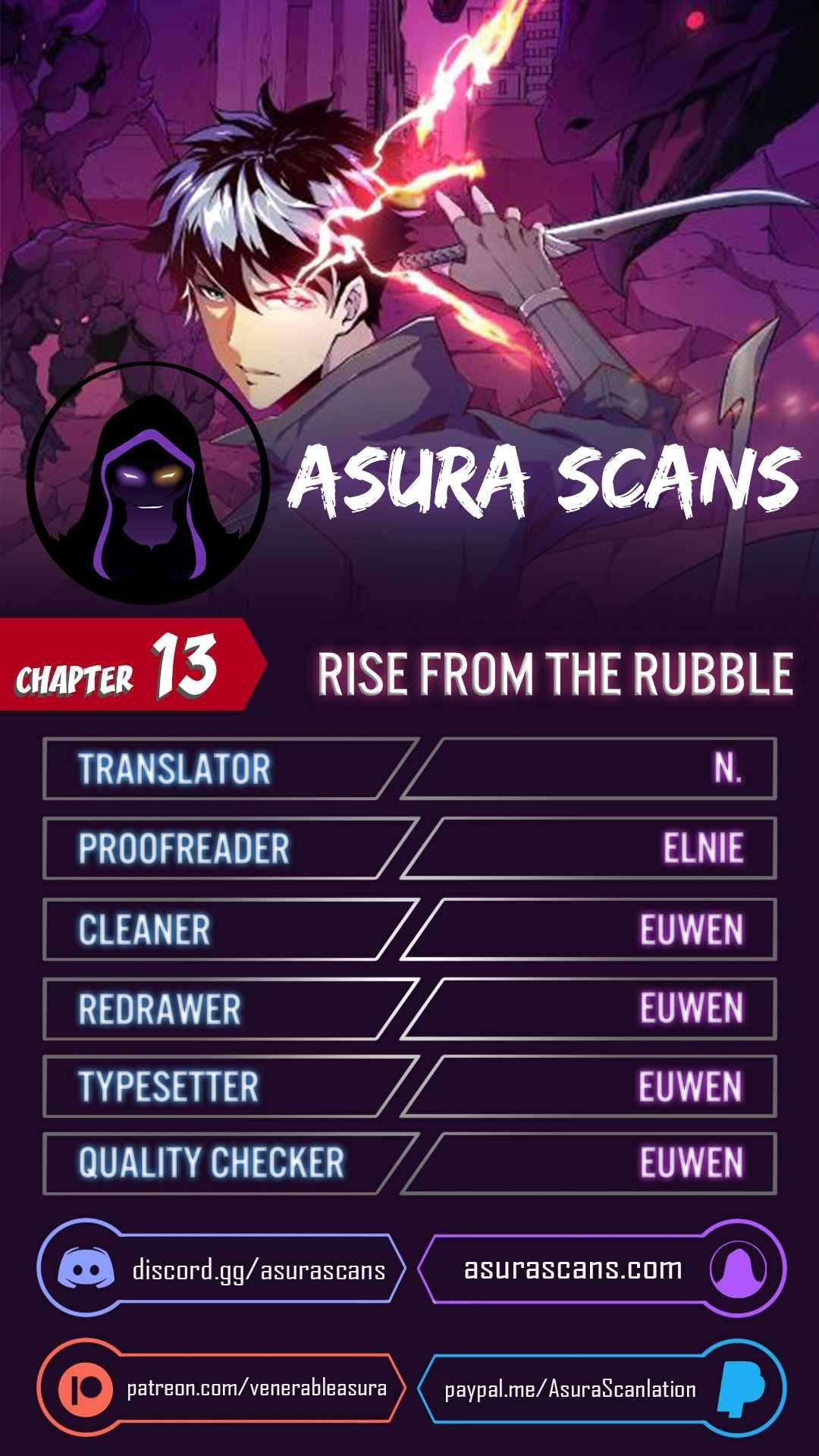 Rise From The Rubble Chapter 13 page 1 - Mangakakalots.com