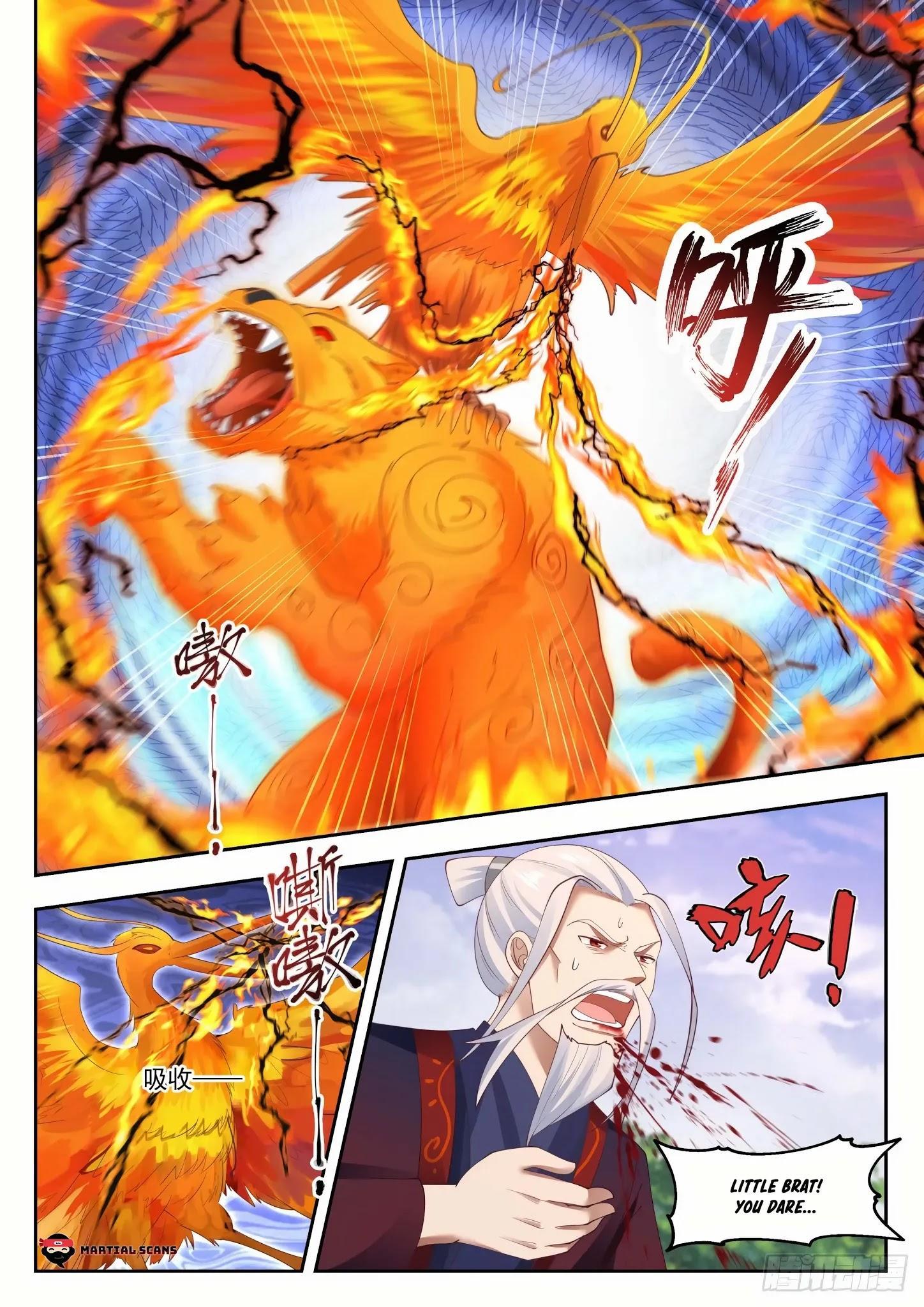 Martial Peak Chapter 1313: Heaven Scorching Thunder Fire page 10 - Mangakakalots.com