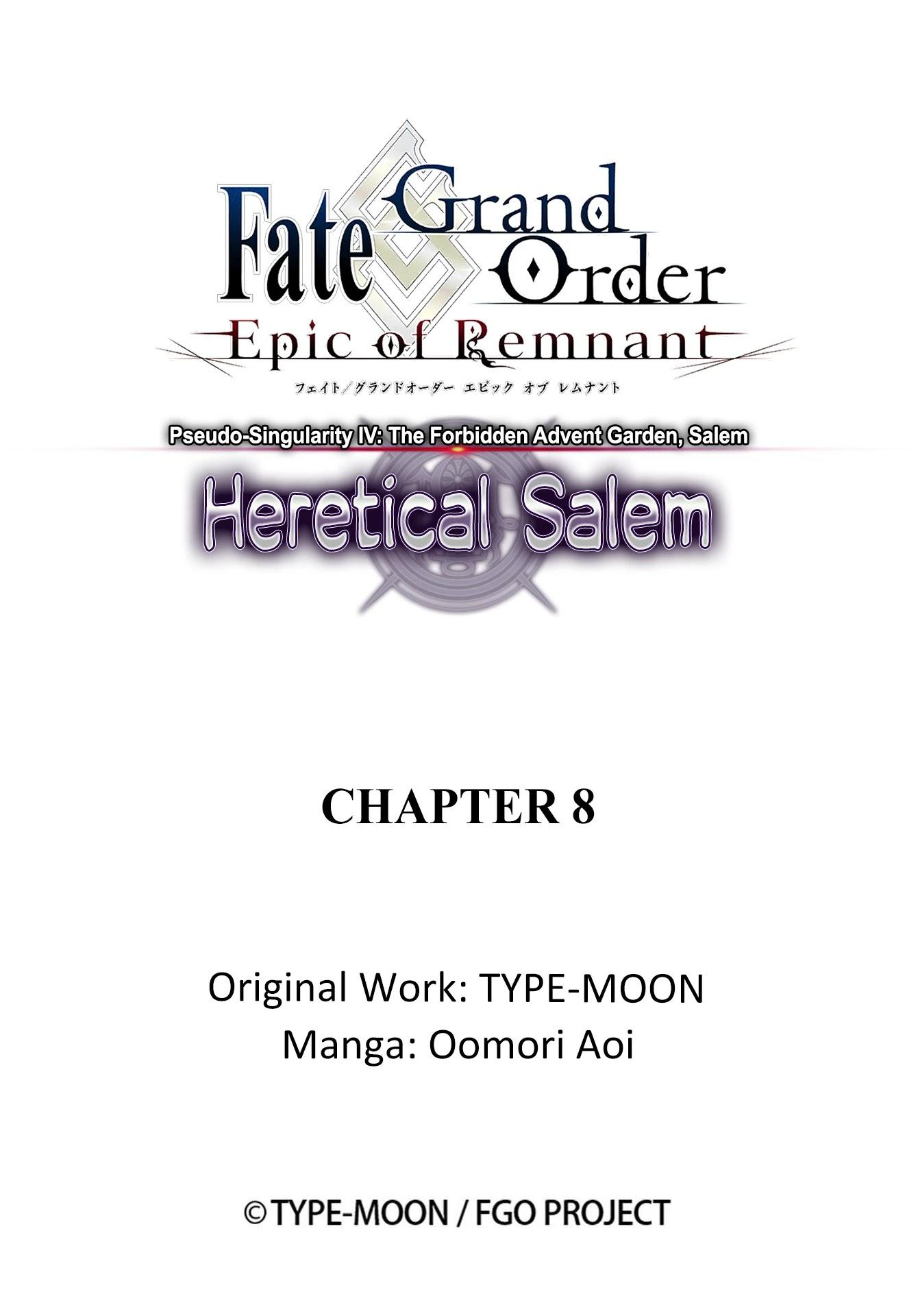 Fate/grand Order: Epic Of Remnant - Subspecies Singularity Iv: Taboo Advent Salem: Salem Of Heresy Chapter 8: Unknot: Before Dawn 7 page 21 - Mangakakalots.com