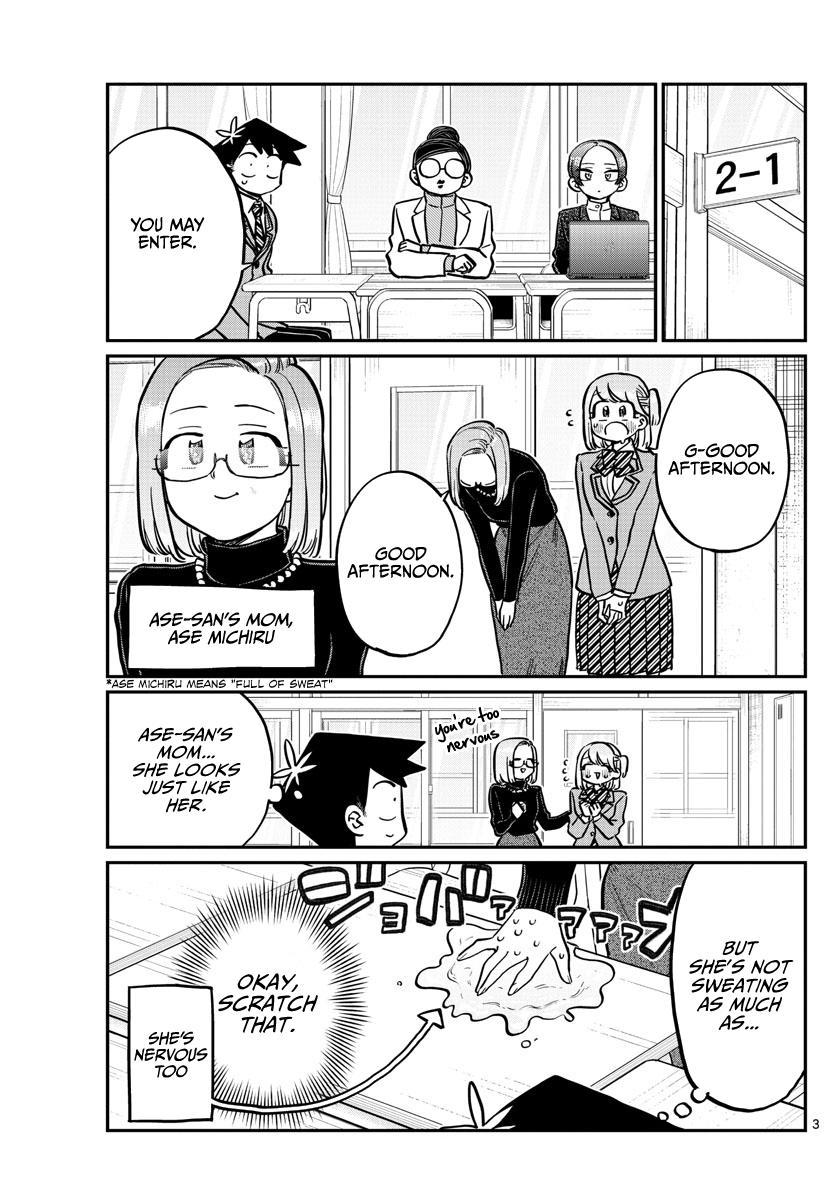 Komi-San Wa Komyushou Desu Chapter 256: Career Counseling page 3 - Mangakakalot