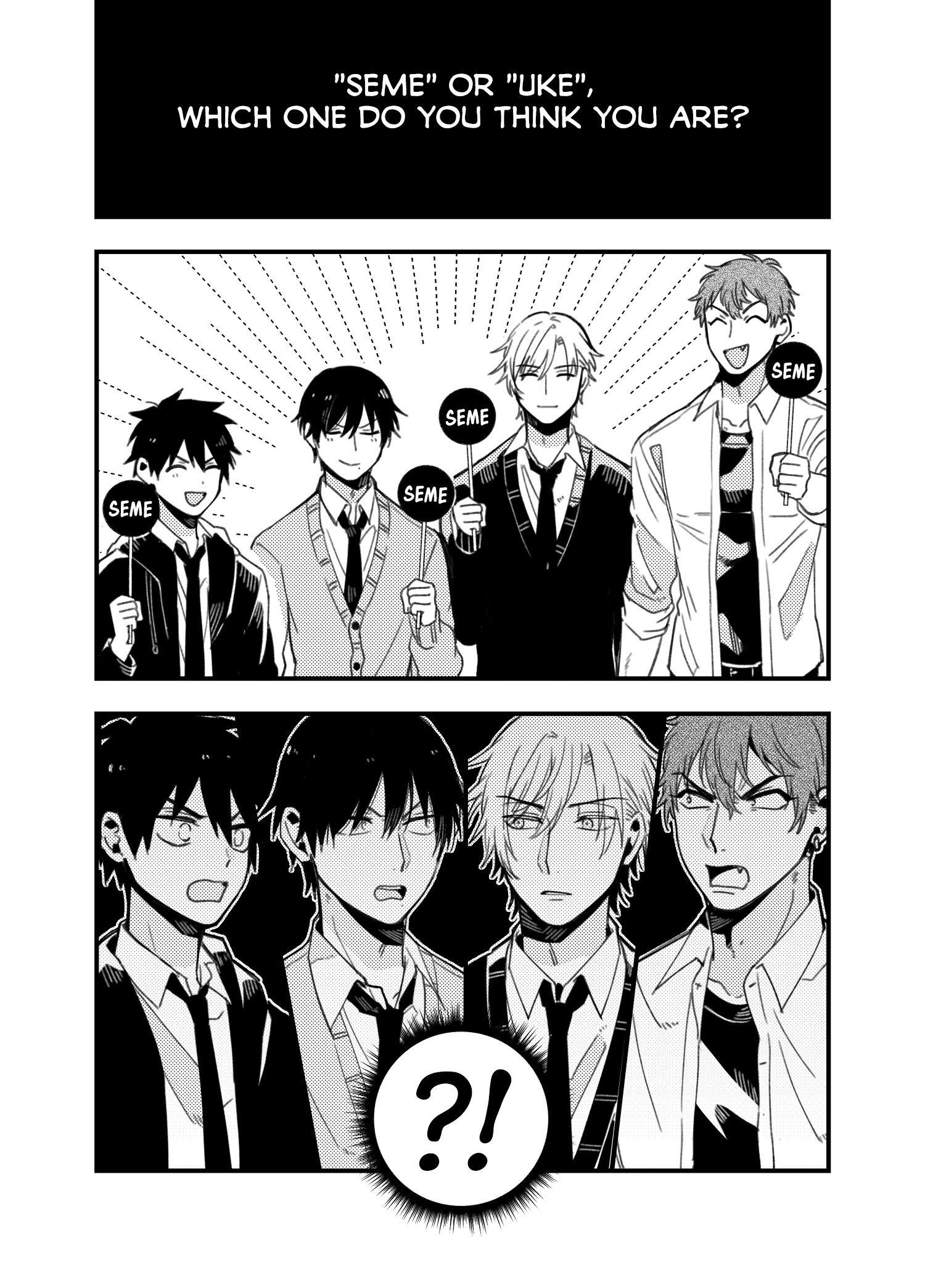 A World Where Everything Definitely Becomes Bl Vs. The Man Who Definitely Doesn't Want To Be In A Bl Volume 2 Chapter 35.6 : Twitter Comics page 26 - Mangakakalots.com