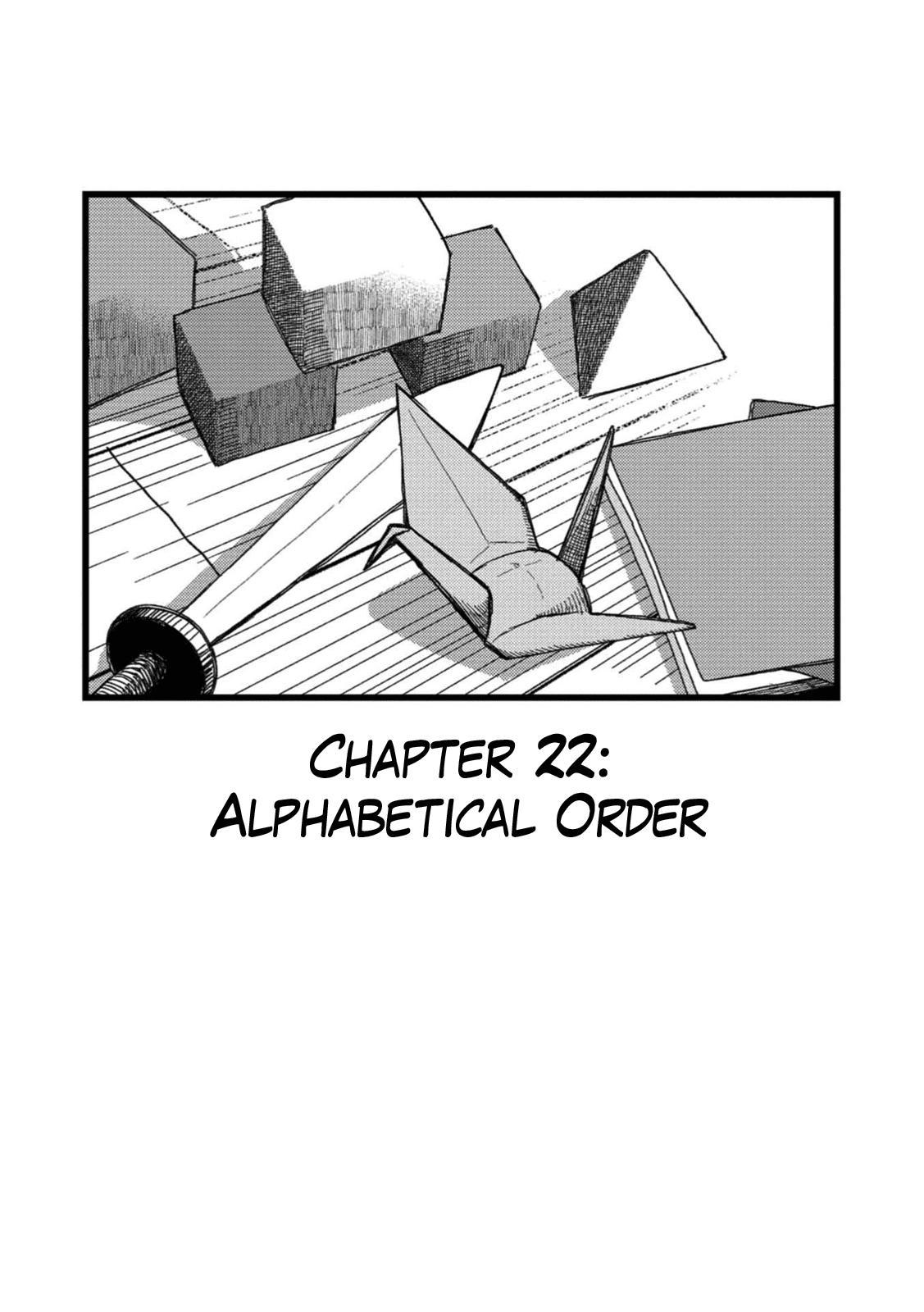 Rojica To Rakkasei Chapter 22: Alphabetical Order page 1 - Mangakakalots.com