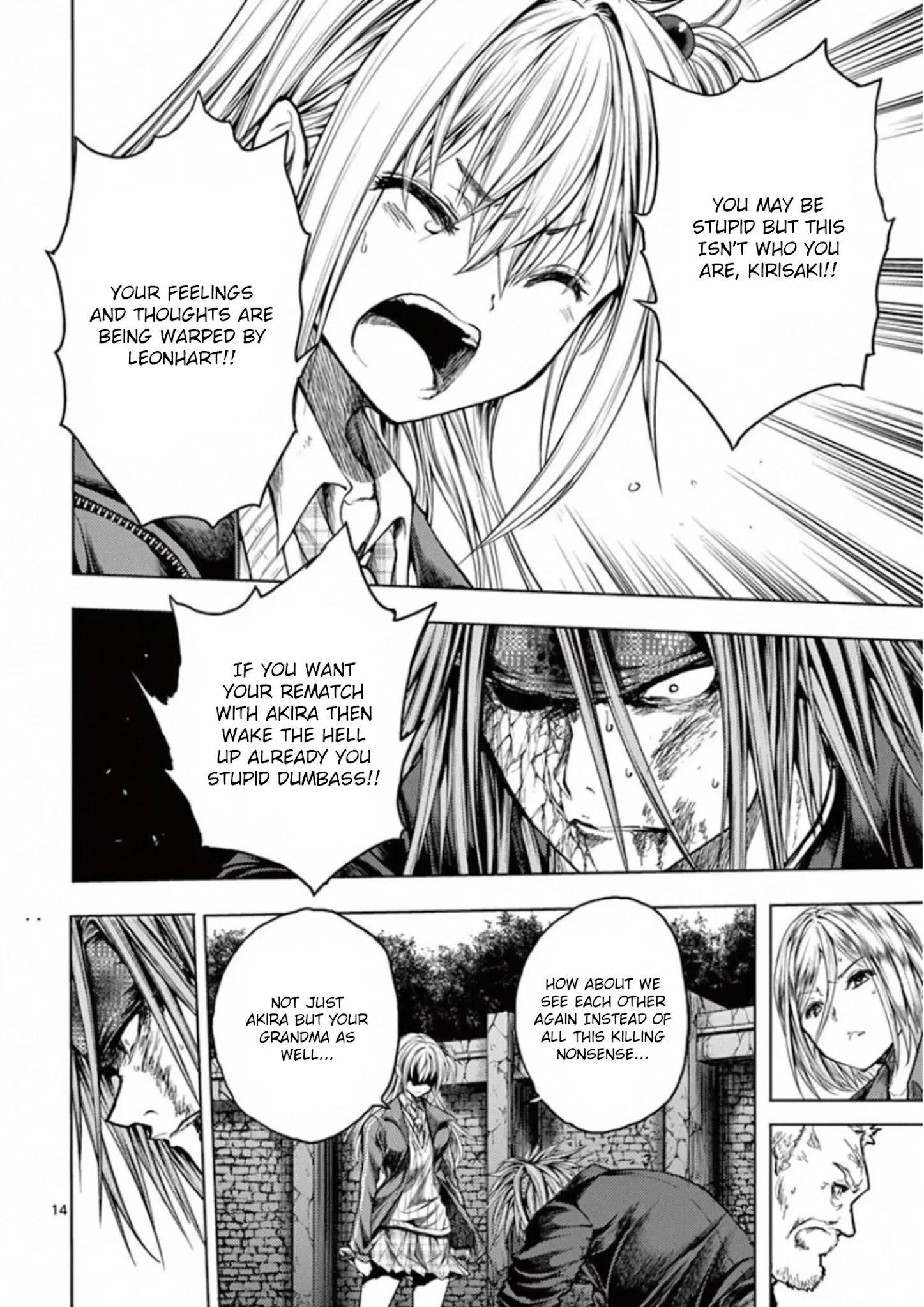 Deatte 5 Byou De Battle Chapter 141: Seven Turns, Eight Falls page 13 - Mangakakalots.com