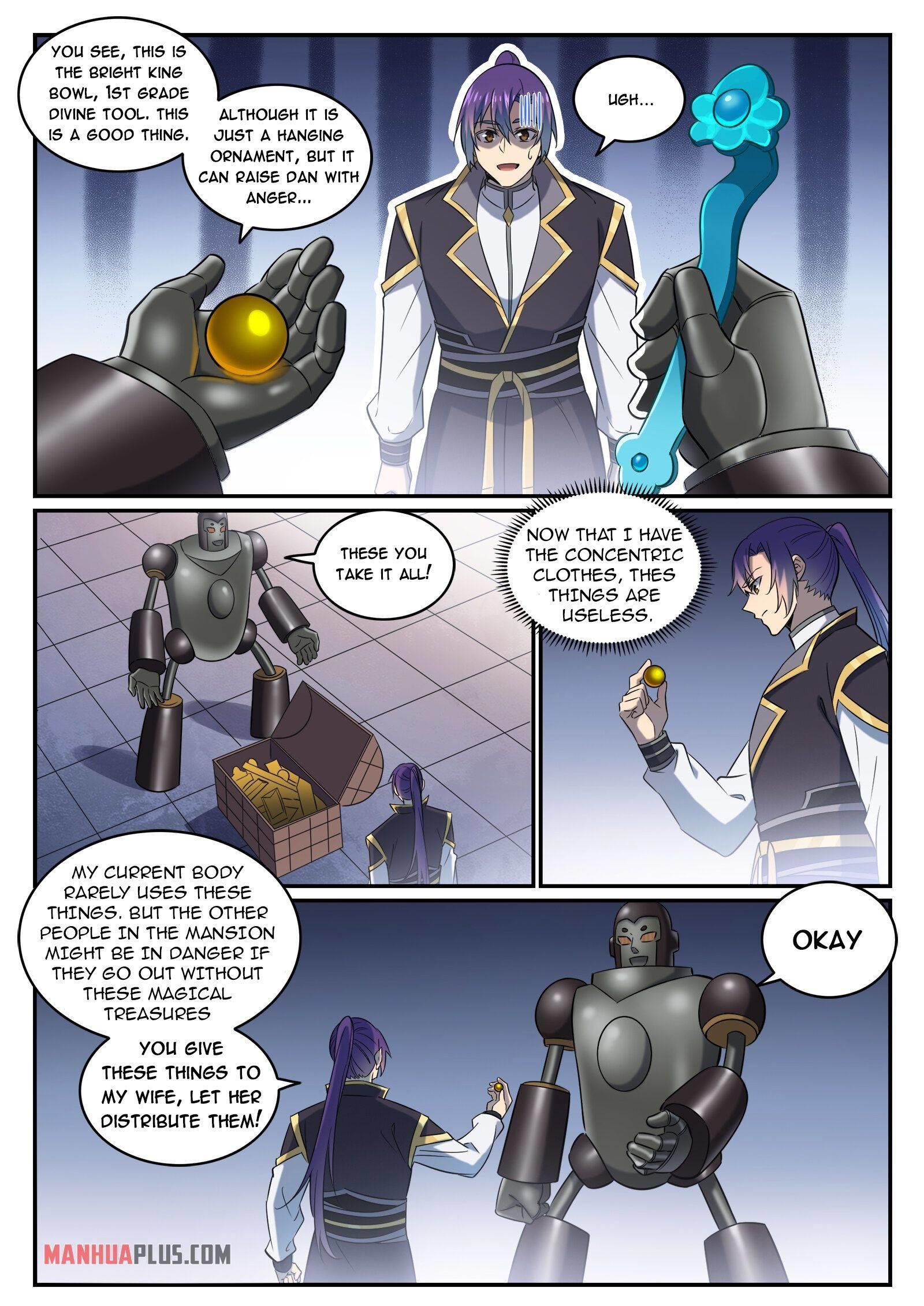 Apotheosis Chapter 780 page 13 - Mangakakalots.com